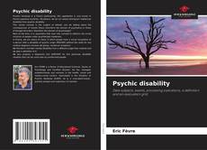 Psychic disability kitap kapağı