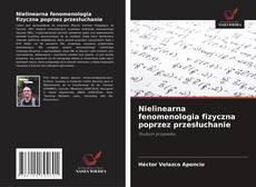 Copertina di Nielinearna fenomenologia fizyczna poprzez przesłuchanie