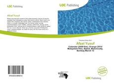 Bookcover of Afzal Yusuf