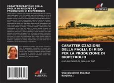 Copertina di CARATTERIZZAZIONE DELLA PAGLIA DI RISO PER LA PRODUZIONE DI BIOPETROLIO