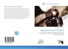 Copertina di Supreme National Tribunal