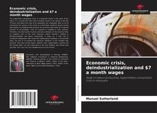 Borítókép a  Economic crisis, deindustrialization and $7 a month wages - hoz