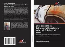 Bookcover of Crisi economica, deindustrializzazione e salari di 7 dollari al mese