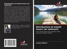 Copertina di Distribuzione di metalli tossici nei sedimenti