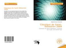 Portada del libro de Classique de Saint-Sébastien 2009