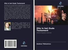 Portada del libro de Olie in het Oude Testament