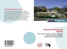 Buchcover von Potsdam-Babelsberg Station