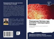 Bookcover of Поведение бетона при высоких температурах пожара