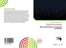 Capa do livro de ZSoft Uninstaller
