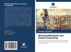 Capa do livro de Wirtschaftlichkeit von Cloud Computing