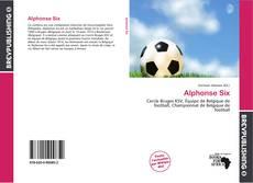 Bookcover of Alphonse Six