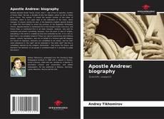 Apostle Andrew: biography kitap kapağı