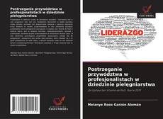 Bookcover of Postrzeganie przywództwa w profesjonalistach w dziedzinie pielęgniarstwa