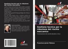 Bookcover of Gestione tecnica per la riduzione del rischio meccanico