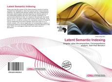 Bookcover of Latent Semantic Indexing