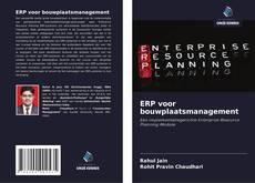 Bookcover of ERP voor bouwplaatsmanagement