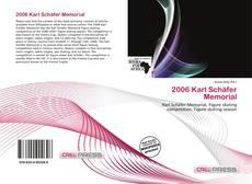 Buchcover von 2006 Karl Schäfer Memorial