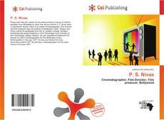 Bookcover of P. S. Nivas