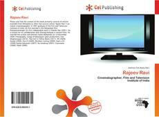 Capa do livro de Rajeev Ravi