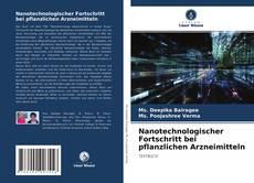 Buchcover von Nanotechnologischer Fortschritt bei pflanzlichen Arzneimitteln
