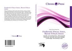 Capa do livro de Frederick Elwyn Jones, Baron Elwyn-Jones