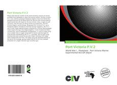 Bookcover of Port Victoria P.V.2