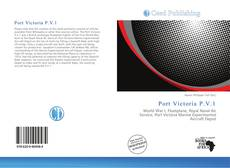 Bookcover of Port Victoria P.V.1