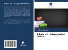 Buchcover von Schule mit pädagogischer Qualität