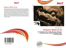 Couverture de Emperor Modi of Jin