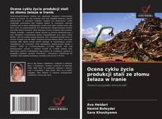 Bookcover of Ocena cyklu życia produkcji stali ze złomu żelaza w Iranie
