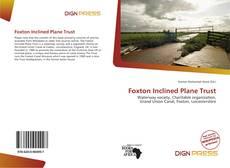Capa do livro de Foxton Inclined Plane Trust