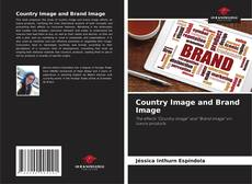 Capa do livro de Country Image and Brand Image
