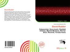 David Rudder的封面