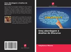 Capa do livro de Uma abordagem à Análise do Discurso