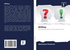 Bookcover of Dilthey