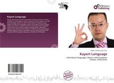 Kayort Language的封面