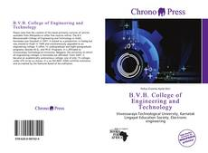 Bookcover of B.V.B. College of Engineering and Technology