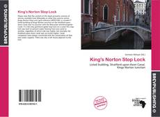 Couverture de King's Norton Stop Lock