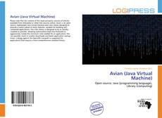 Couverture de Avian (Java Virtual Machine)