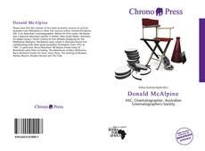 Portada del libro de Donald McAlpine