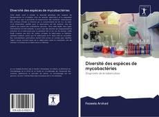 Portada del libro de Diversité des espèces de mycobactéries