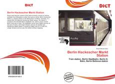 Bookcover of Berlin Hackescher Markt Station