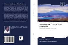 Обложка Buitenaardse Corona Virus Pandemie