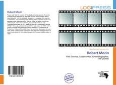 Couverture de Robert Morin