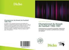 Capa do livro de Championnat du Koweït de Football 1986-1987
