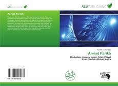 Arvind Parikh kitap kapağı