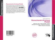 Bookcover of Ramachandra Krishanji Phatak