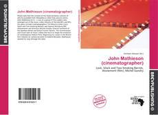 Copertina di John Mathieson (cinematographer)