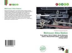 Bookcover of Mehrower Allee Station