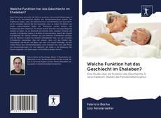 Bookcover of Welche Funktion hat das Geschlecht im Eheleben?